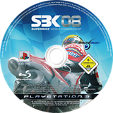SBK 08:Superbike World Championship PS3 disc (BLES00368)