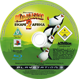 Madagascar 2 PS3 disc (BLES00394)