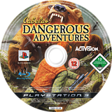 Cabela's Dangerous Adventures PS3 disc (BLES00402)