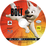 Bolt PS3 disc (BLES00414)
