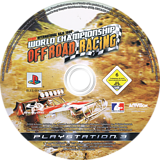 World Championship Off Road Racing PS3 disc (BLES00421)