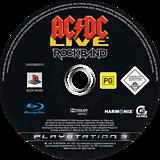 AC/DC Live: Rock Band PS3 disc (BLES00453)