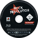 Rock Revolution PS3 disc (BLES00474)