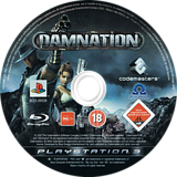 Damnation PS3 disc (BLES00526)