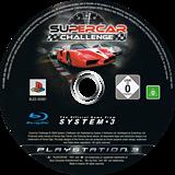 Supercar Challenge PS3 disc (BLES00581)