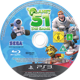 Planet 51 PS3 disc (BLES00584)