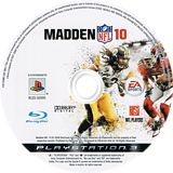 Madden NFL 10 PS3 disc (BLES00595)