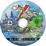 Cross Edge PS3 disc (BLES00650)