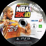 NBA 2K10 PS3 disc (BLES00655)