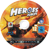 Heroes Over Europe PS3 disc (BLES00679)
