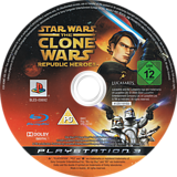 Star Wars The Clone Wars: Republic Heroes PS3 disc (BLES00692)