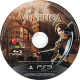 Venetica PS3 disc (BLES00776)