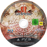 Last Rebellion PS3 disc (BLES00861)