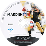Madden NFL 11 PS3 disc (BLES00916)