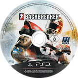 BackBreaker PS3 disc (BLES00944)