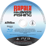 Rapala Pro Bass Fishing PS3 disc (BLES00957)