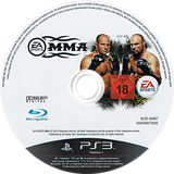 EA Sports MMA PS3 disc (BLES00987)