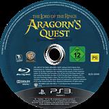 El Señor de los Anillos: Las Aventuras de Aragorn PS3 disc (BLES00998)