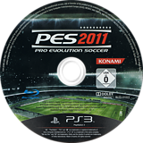Pro Evolution Soccer 2011 PS3 disc (BLES01022)