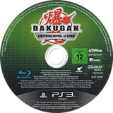 Bakugan: Defensores de la Tierra PS3 disc (BLES01036)