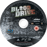 Blood Drive PS3 disc (BLES01046)