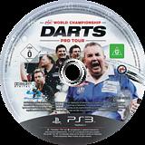 PDC World Championship Darts: Pro Tour PS3 disc (BLES01090)
