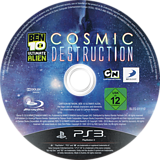Ben 10: Ultimate Alien - Cosmic Destruction PS3 disc (BLES01110)