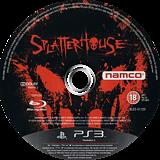 Splatterhouse PS3 disc (BLES01120)