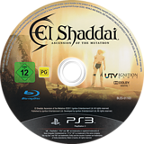 El Shaddai: Ascension of the Metatron PS3 disc (BLES01163)