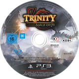 Trinity: Souls of Zill O'll PS3 disc (BLES01184)