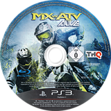 MX vs. ATV Alive PS3 disc (BLES01192)