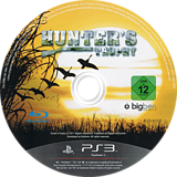 Hunter's Trophy PS3 disc (BLES01217)