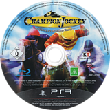 Champion Jockey: G1 Jockey & Gallop Racer PS3 disc (BLES01235)