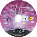 Let's Dance with Mel B PS3 disc (BLES01268)