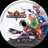 Arcana Heart 3 PS3 disc (BLES01295)