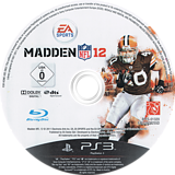 Madden NFL 12 PS3 disc (BLES01320)