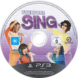 Everyone Sing PS3 disc (BLES01383)
