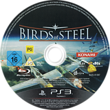Birds of Steel PS3 disc (BLES01397)