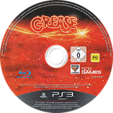 Grease Dance PS3 disc (BLES01410)