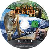 Cabela's Big Game Hunter 2012 PS3 disc (BLES01411)