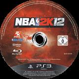 NBA 2K12 PS3 disc (BLES01418)