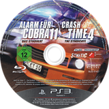 Crash Time 4: The Syndicate PS3 disc (BLES01427)