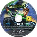Ben 10: Galactic Racing PS3 disc (BLES01469)