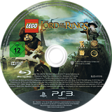 LEGO El Señor de los Anillos PS3 disc (BLES01516)