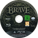 Brave: The Video Game PS3 disc (BLES01542)