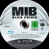 Men in Black: Alien Crisis PS3 disc (BLES01549)