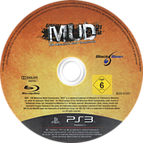 MUD FIM Motocross World Championship PS3 disc (BLES01551)