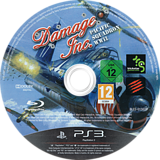 Damage Inc. Pacific Squadron WWII PS3 disc (BLES01563)