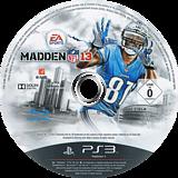 Madden NFL 13 PS3 disc (BLES01603)