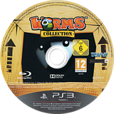 Worms Collection PS3 disc (BLES01610)